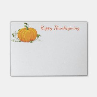 Post-it® Courrier--Notes de thanksgiving