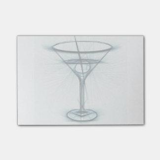 Post-it® Croquis en verre de Martini