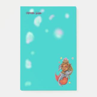 Post-it® Danse de Mer avec des dauphins
