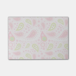 Post-it® Défilé de Paisley rose