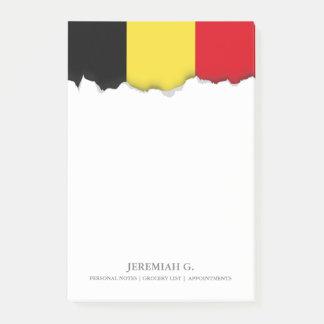 Post-it® Drapeau de la Belgique