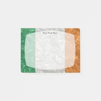 Post-it® Drapeau de l'Irlande - froissé