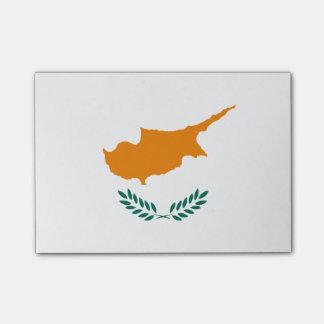 Post-it® Drapeau des notes de Courrier-it® de la Chypre