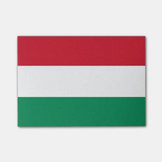 Post-it® Drapeau des notes de Courrier-it® de la Hongrie