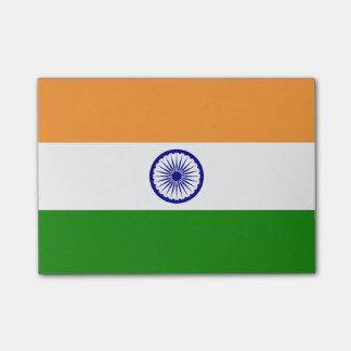 Post-it® Drapeau des notes de Courrier-it® de l'Inde