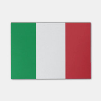Post-it® Drapeau des notes de Courrier-it® de l'Italie