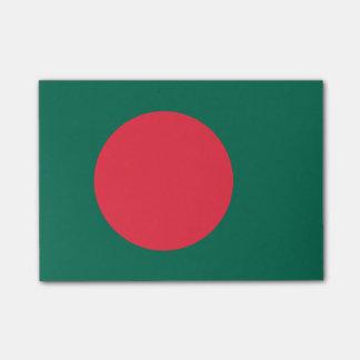 Post-it® Drapeau des notes de Courrier-it® du Bangladesh
