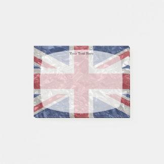 Post-it® Drapeau d'Union Jack - froissé