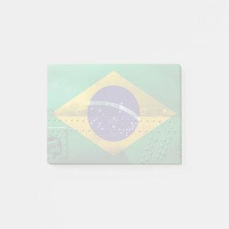 Post-it® Drapeaux de pays affligés | Brésil