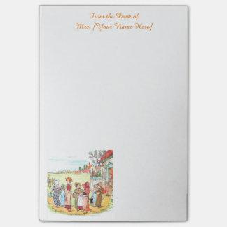 Post-it® École victorienne personnalisée de Kate Greenaway