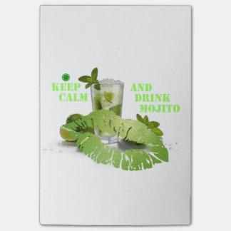Post-it® Gardez Mojito calme