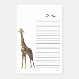Post-it® Girafe pour faire des notes de Courrier-it® de