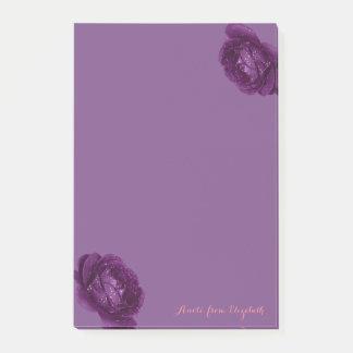 Post-it® Girly élégant élégant, pourpre, roses