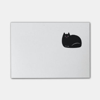 Post-it® Gros chat noir