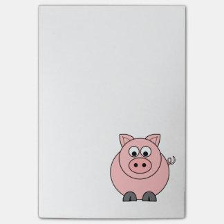 Post-it® Gros porc rose