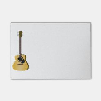 Post-it® Guitare acoustique