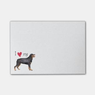 Post-it® J'aime mon rottweiler
