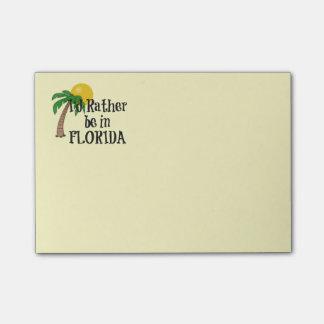 Post-it® Je serais plutôt en Floride