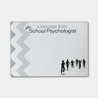 Post-it® La note collante de Chevron du psychologue
