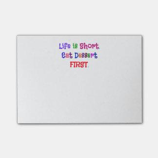 Post-it® La vie est courte…