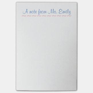Post-it® Le Courrier-it® de professeur note 4 x 6