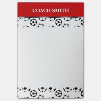Post-it® Le football d'entraîneur du football
