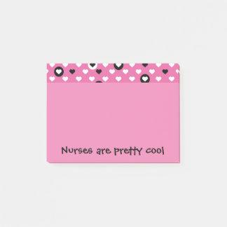 Post-it® Les infirmières sont de jolis coeurs frais