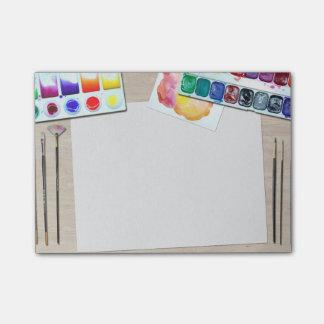 Post-it® Les notes de post-it du peintre
