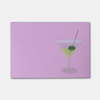 Post-it® Martini avec l'olive