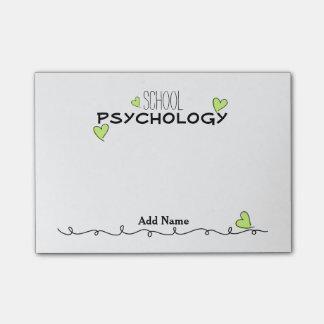 Post-it® Note de Courrier-it® de coeurs de psychologie