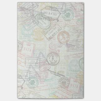 Post-it® Note de post-it d'impression de timbre de
