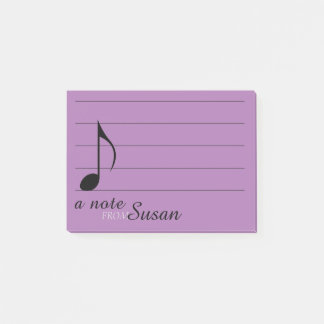 Post-it® Note musicale et personnel