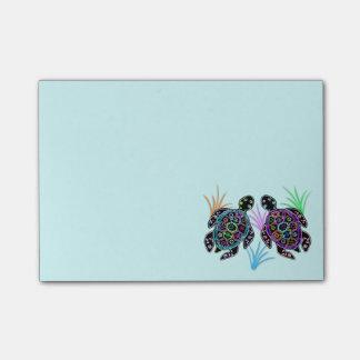 Post-it® Notes de Courrier-it® de tortues de mer