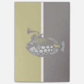 Post-it® notes de Courrier-it® de triggerfish de clown