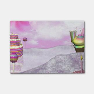 Post-it® Notes de post-it de Candyland