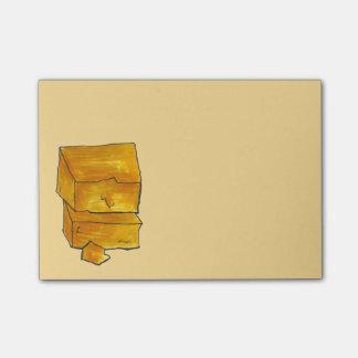 Post-it® Notes de post-it de fin gourmet de fromage de