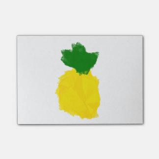 Post-it® Notes de post-it de peinture d'ananas
