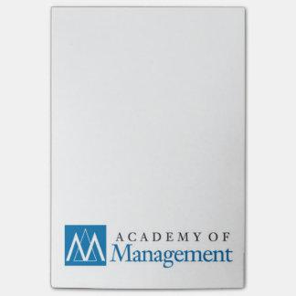 Post-it® Notes de post-it du logo 4x6