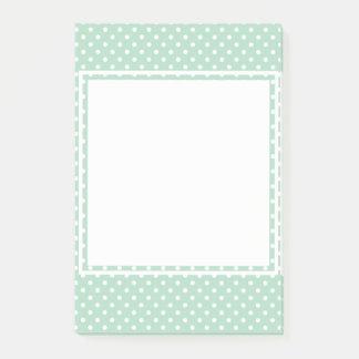Post-it® Notes de post-it en bon état de point de polka