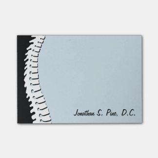 Post-it® Notes de post-it personnalisées par épine latérale