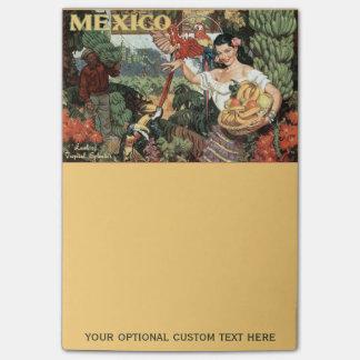 Post-it® Notes de post-it vintages de voyage du Mexique