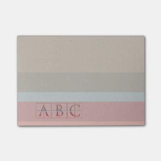 Post-it® Notes de simplicité d'ABC