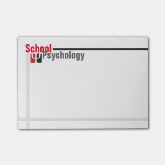 Post-it® Notes pointues et élégantes de psychologie d'école