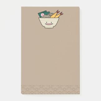 Post-it® Nouilles de Japonais de crevette de nori de bol de