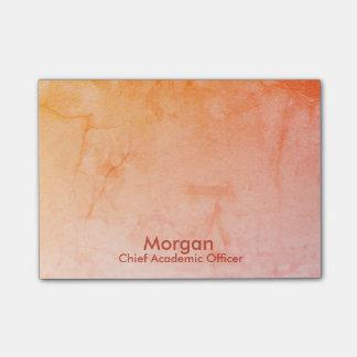 Post-it® Orange scolaire en chef de dirigeant de Homeschool