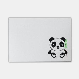 Post-it® Panda avec le bambou