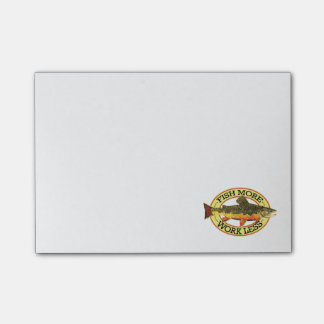 Post-it® Pêche de mouche de truite de ruisseau