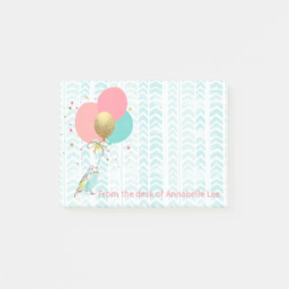 Post-it® Perroquets et ballons