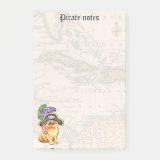 Post-it® Pirate de Pomeranian