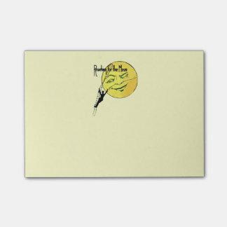 Post-it® Portée clignotante vintage d'échelle d'homme de